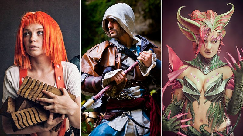 Illustration for article titled Cosplay Roundup: League Of Legends, Pirates, Dwarves & Leeloo