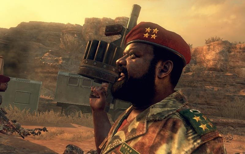 Illustration for article titled Los hijos de un rebelde angoleño demandan a Call of Duty por un millón de euros