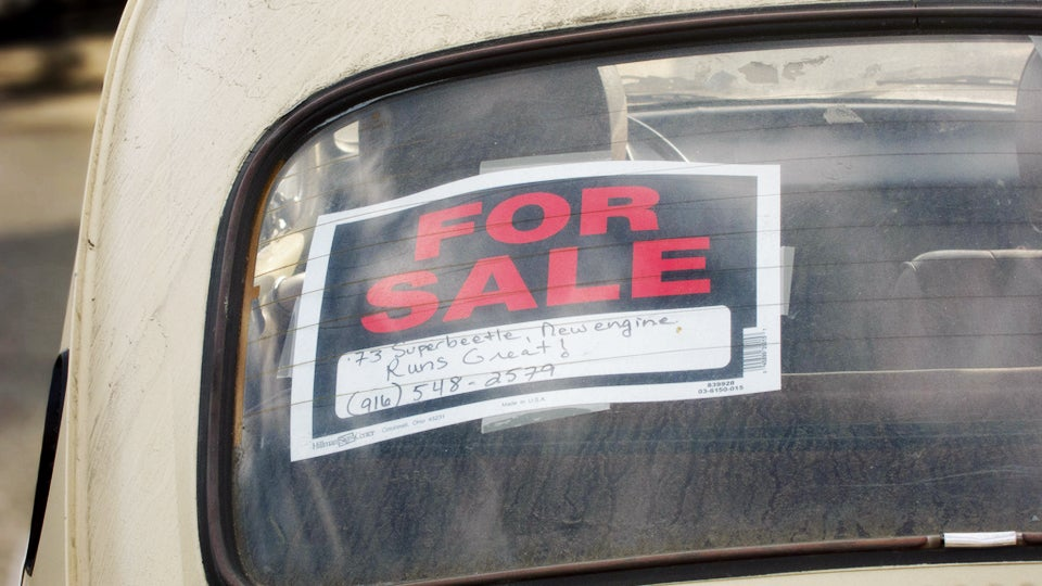 Ten Things To Do When Youre Selling Your Car