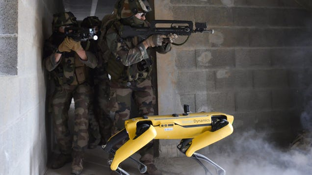 The French Army Is Testing Spot the Robot on the Battlefield