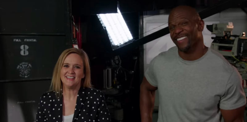 Samantha Bee, Terry Crews