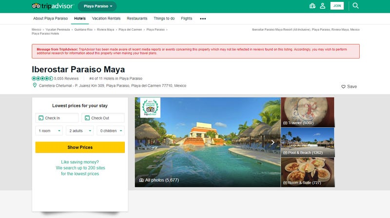 FTC reportedly investigating TripAdvisor's deleted reviews