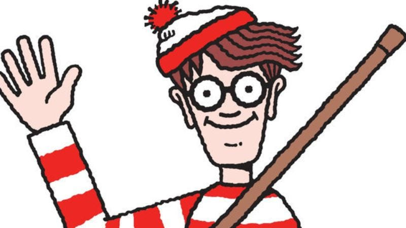 """Illustration for article titled """"Where's Waldo?"""" no longer a rhetorical question thanks to this study"""