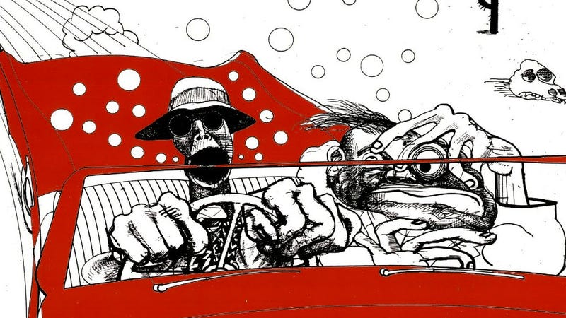 Image by the great Ralph Steadman, of course
