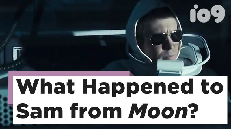 Sam Rockwell as Sam Bell in Moon.