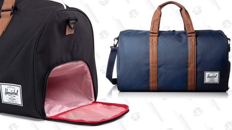 Herschel Novel Duffel Bag - Navy | $61 | AmazonHerschel Novel Duffel Bag - Black | $60 | Amazon