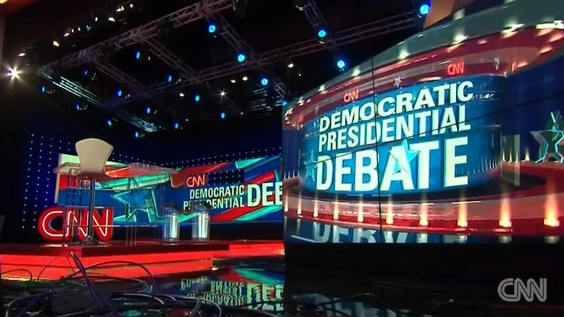 Illustration for article titled How to Stream Tonight's CNN Democratic Debate, No Cable Required