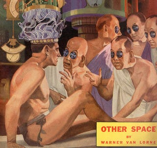 """Illustration for article titled How Do You Get Science Fiction To Have """"Book Club Lit""""?"""