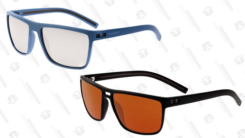 Lentes de sol Simplify Polarized TR90 (azul/plata y negro/marrón) | $28 | Daily Steals | Usa el código KINJASIMPGráfico: Shep McAllister