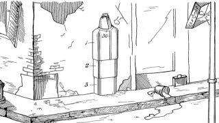 Illustration for article titled This atomic bomb survival suit will make you want to hide in a fridge