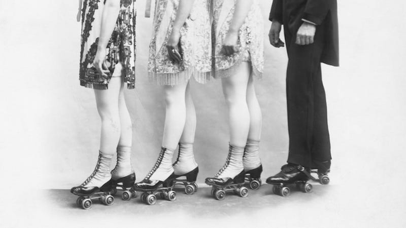 Illustration for article titled How Rollerskating Helped Victorian Youths Feel Each Other Up
