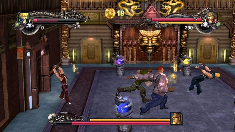Illustration for article titled Double Dragon II Coming to Xbox Live Arcade, Doesn't Look Like Double Dragon