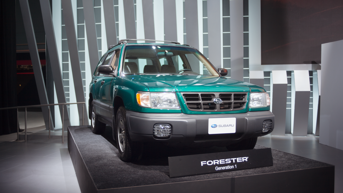 Jalopnik drive free or die for Subaru forester paint job cost