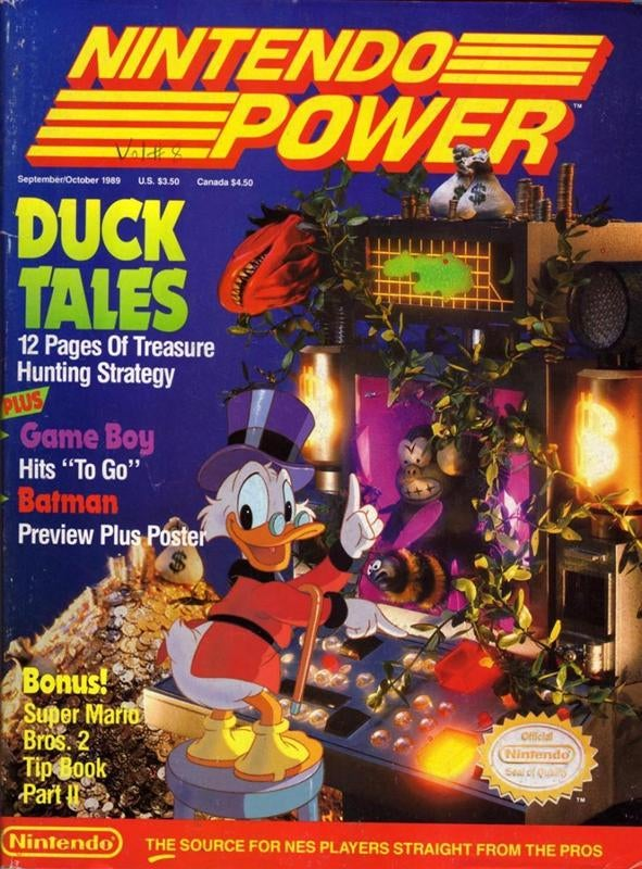 Every issue of Nintendo Power magazine is now up on the internet