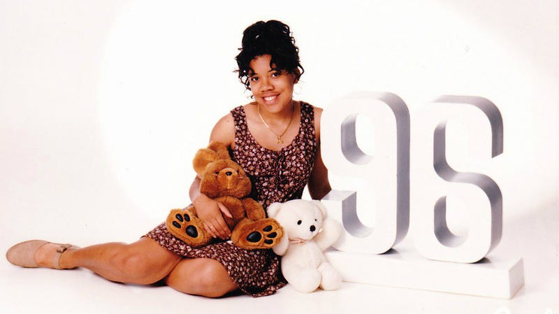 Editor-in-Chief Danielle Belton ... and friends, in 1996—we think (courtesy of Danielle Belton)