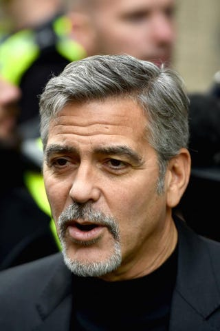 George Clooney in 2015Jeff J. Mitchell/Getty Images