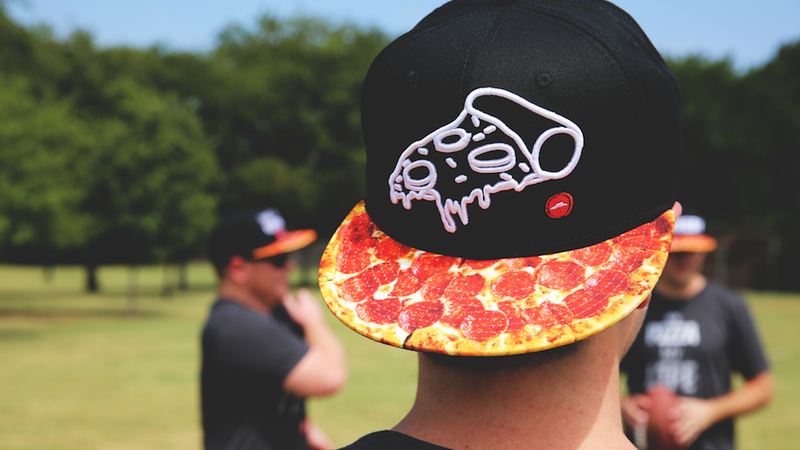 Illustration for article titled You're Definitely Going to Fuck a Man Wearing Pizza Hut's 'Hut Swag,' and Here's How