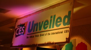 Illustration for article titled CES Unveiled: We're here