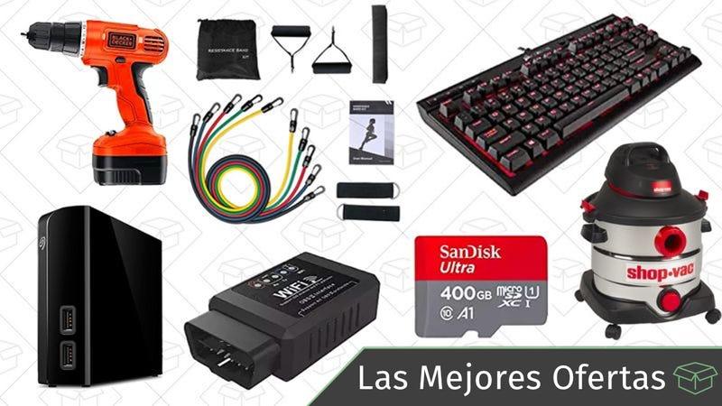 Illustration for article titled Las mejores ofertas de este jueves: Disco duro de 6TB, timbre inteligente, God of War y más