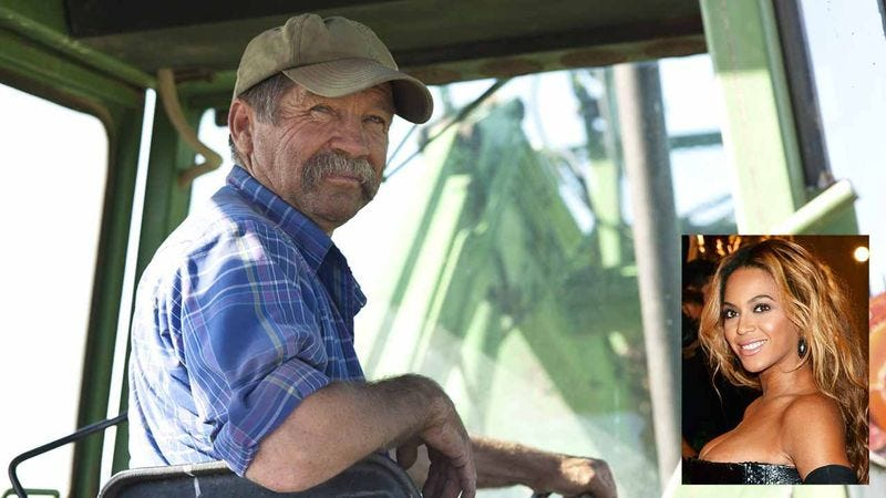 Illustration for article titled 'We're In Love': Meet The 52-Year-Old Soybean Farmer Who Stole The Heart Of Queen Bey