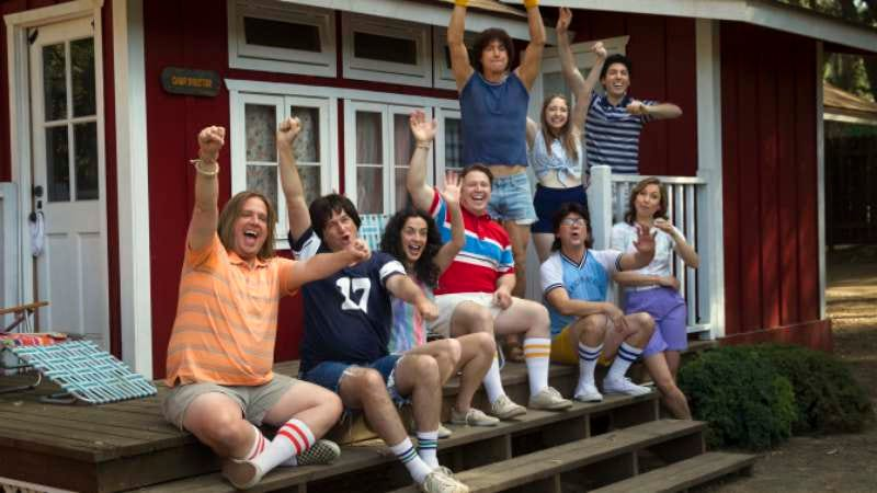 Illustration for article titled Netflix releases first images from its Wet Hot American Summer prequel