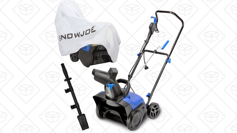 Snow Joe Electric Snow Thrower with Accessories, $88