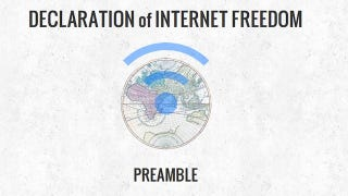 Illustration for article titled Let the EFF Convince You to Sign the Declaration of Internet Freedom