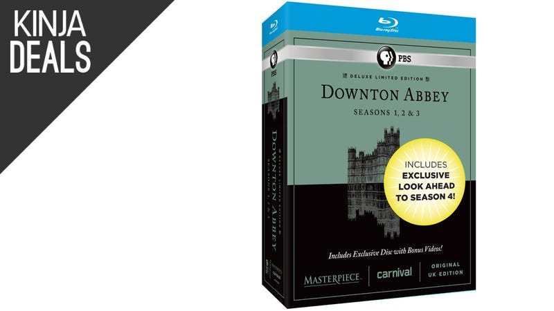 Illustration for article titled Today's Best Media Deals: Three Seasons of Downton Abbey for $25, More