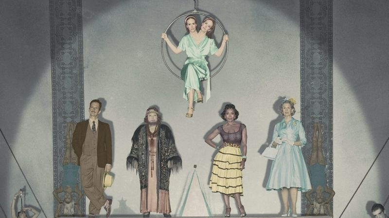Illustration for article titled Here's who's who and what's freaky about them in American Horror Story: Freak Show