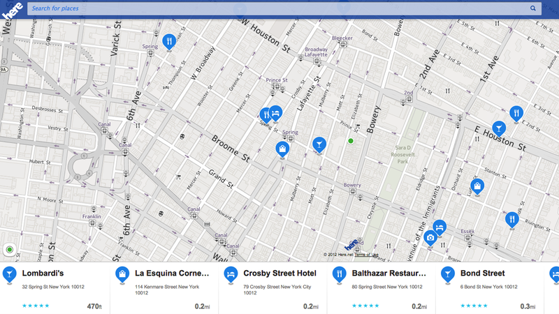Illustration for article titled Nokia's New Mapping Service Is Coming to iOS and Android