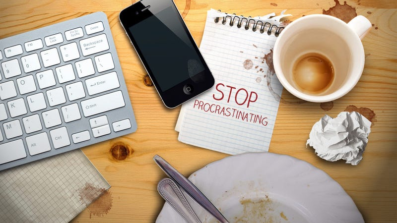 "Illustration for article titled Stop Procrastinating by ""Clearing to Neutral"""