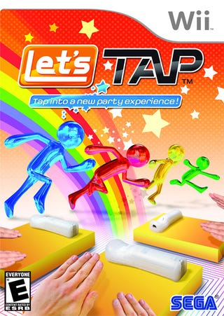 Illustration for article titled Let's Tap Box Art: Hands-On, Party On