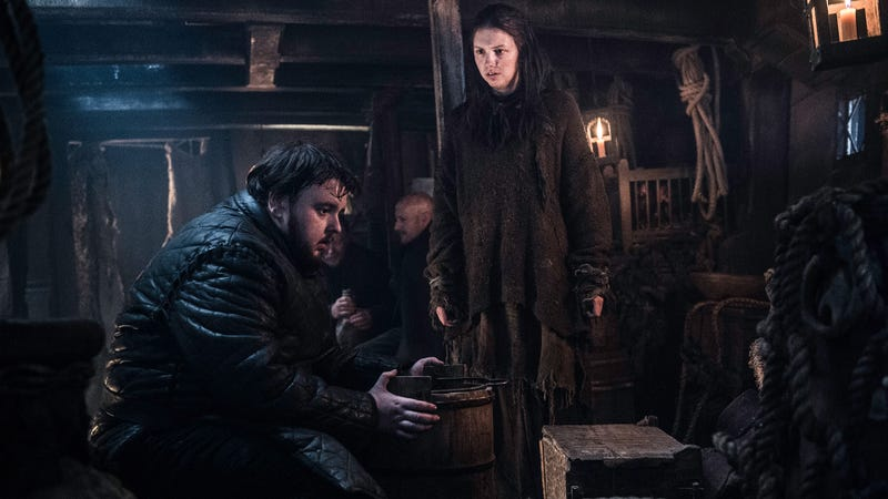 Illustration for article titled Sam Tarly Has a Theory About Why Game of Thrones' Gyroscopes Suddenly Appeared in the Show