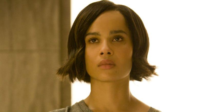 Zoe Kravitz in Insurgent. Image: Lionsgate