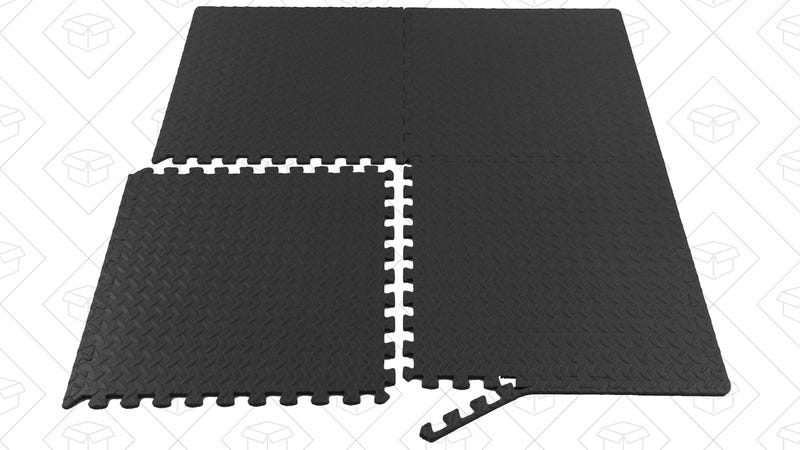 Design Your Own Workout Floor With These Discounted Foam Tiles