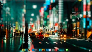 Illustration for article titled The Shinjuku Streets Desktop