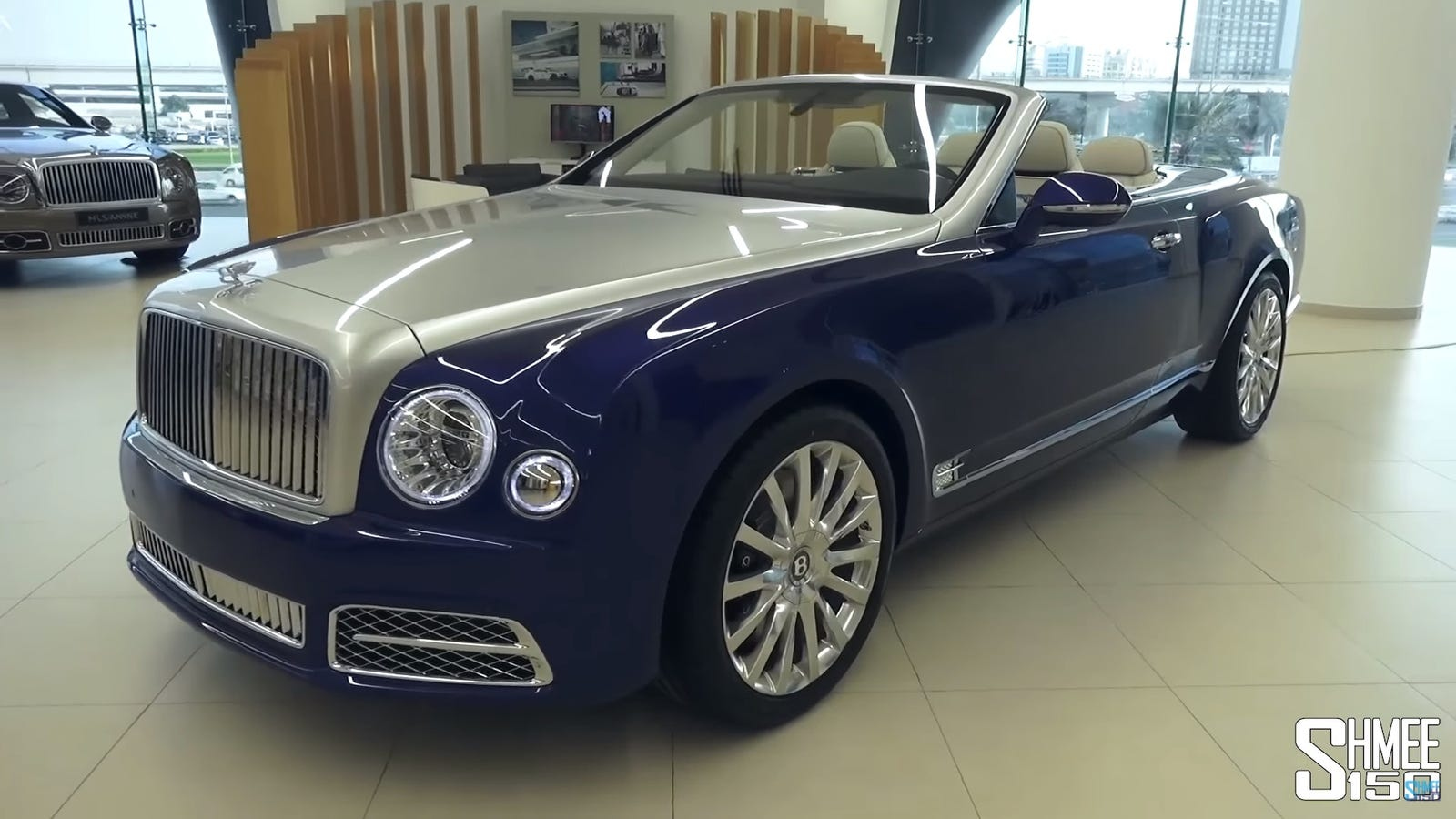 this sure as hell looks like a new bentley mulsanne convertible. Black Bedroom Furniture Sets. Home Design Ideas