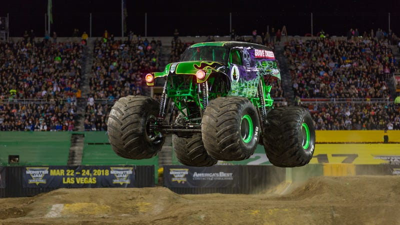 Illustration for article titled I Loved My First Monster Truck Rally