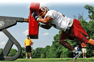 Illustration for article titled 2009 NFL Training Camp Highlights