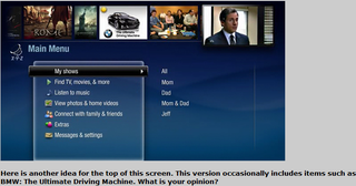 Illustration for article titled A Sneak Peek at the New TiVo User Interface