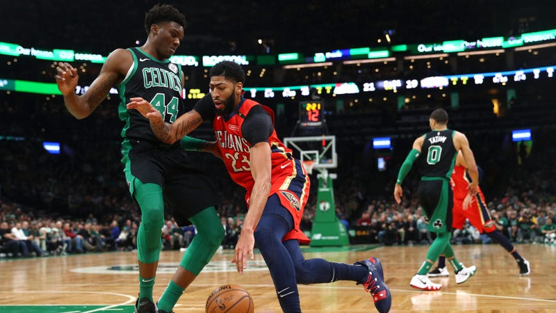Illustration for article titled This Is Boston's Chance To Get Anthony Davis, As Long As They Don't Fuck It Up