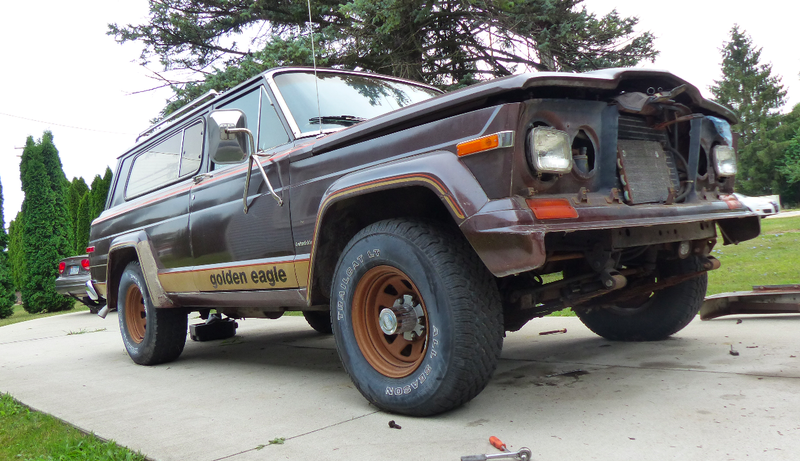 Illustration for article titled How I've Been Saving Money On My 1979 Jeep Cherokee Golden Eagle Project