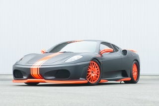 Illustration for article titled Hamann Ferrari F430 Black Miracle