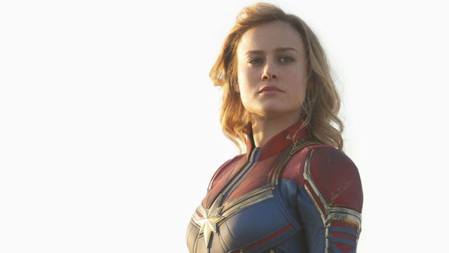 George R.R. Martin Says Captain Marvel Could Eat Iron Man for Lunch and Have Thor for Dessert