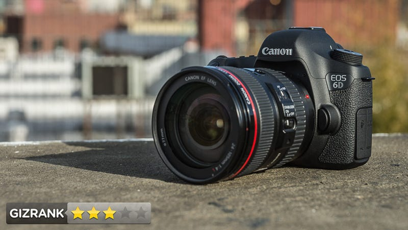 Illustration for article titled Canon EOS 6D Review: Beautiful Full-Frame Stills, Crummy Full-Frame Video