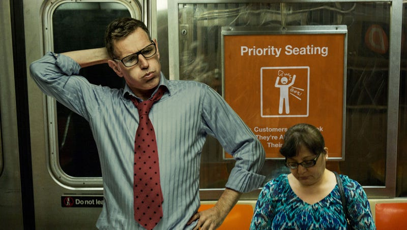 Illustration for article titled MTA Unveils New Designated Seating For Commuters Who Look Like They're About To Snap