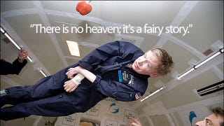 Illustration for article titled This Is What Stephen Hawking Thinks About Heaven