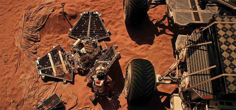 Nueve tecnologías de la película The Martian que son absolutamente reales