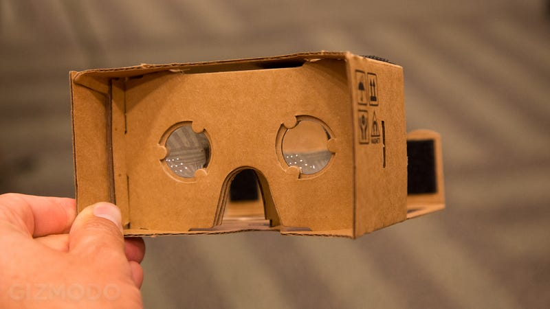 Illustration for article titled At Google I/O, Cardboard Won't Necessarily Be Cardboard Anymore