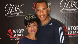 Grace Gealey and Trai ByersMaury Phillips/Getty Images